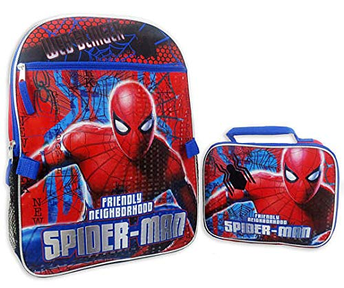 Marvel Spider-Man Backpack & Lunch Bag