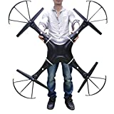 quad helicopter large - NiGHT LiONS TECH ® 47.2 Inch Drone N7C-1 6 Channel 6 Axis GYRO Big Quadcopter with 2MP HD Camera