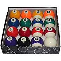 Generic Pool Ball Set (Set Of 16 Balls)