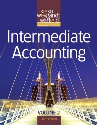 Intermediate Accounting, Vol. 2, 14th Edition (Volume 2)