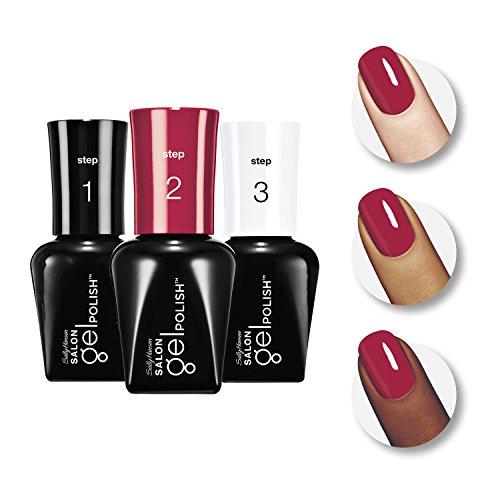 Sally Hansen Salon Pro Gel Starter Kit, Red My Lips by Sally Hansen (Image #7)
