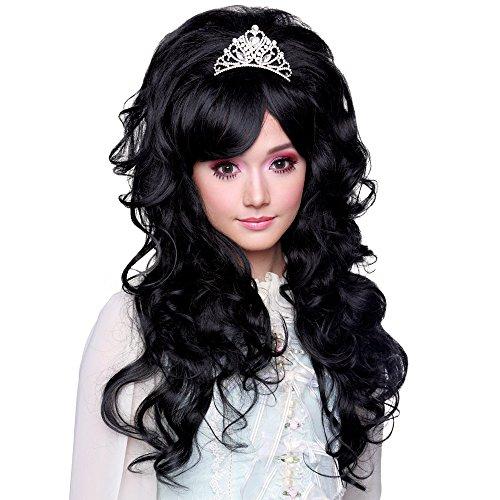 (Gothic Lolita Wigs® Countess™ Collection - NOIR (Black Mix)-)