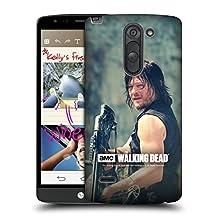 Official AMC The Walking Dead Archer Daryl Dixon Hard Back Case for LG G3 Stylus / D690N / D690