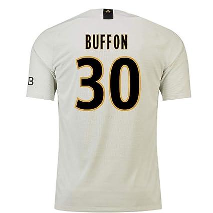 Amazon.com   2018-19 PSG Away Football Soccer T-Shirt Jersey ... 4884041ae