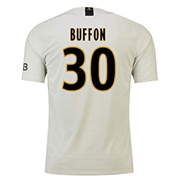 2018-19 PSG Away Football Soccer T-Shirt Camiseta (Gianluigi Buffon 30)