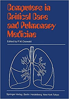 Book Computers in Critical Care and Pulmonary Medicine