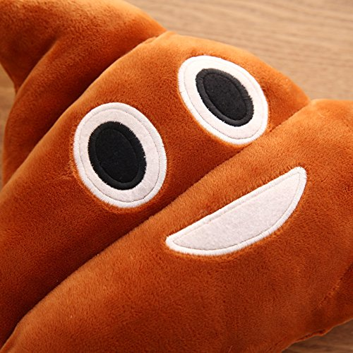 Amazon.com: wxlaa Creative Cute Emoji caca shits peluche ...