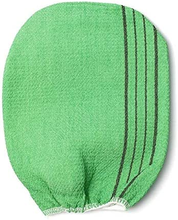 Korean Italy Exfoliating Body-Scrub Glove Towel Green Red Shower Scrubber