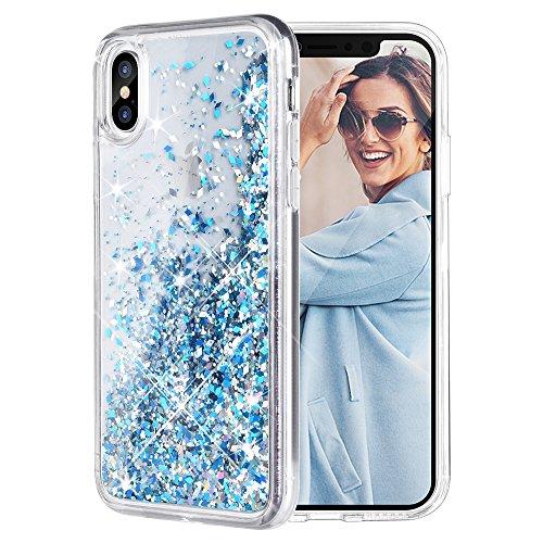 iPhone-X-Case-Caka-iPhone-X-Glitter-Case-Liquid-Series-Girls-Luxury-Fashion-Bling-Flowing-Liquid-Floating-Sparkle-Glitter-Cute-TPU-Bumper-Case-for-iPhone-10