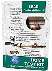 Lead Test Kit in Paint, Dust, or Soil 5P...