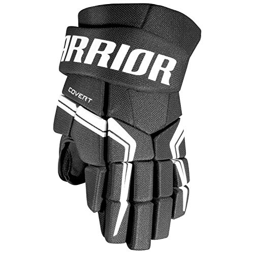 Warrior Sports Covert Qre 5 Junior Hockey Gloves Black ()
