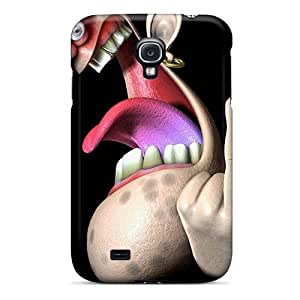First-class Cases Covers For Galaxy S4 Dual Protection Covers 3d Middle Finger
