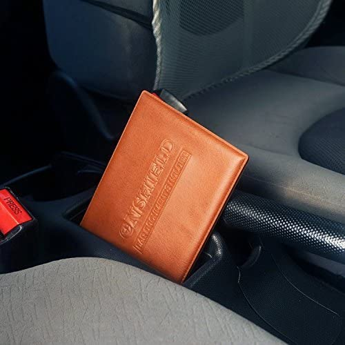 Car Registration and Insurance Card Holder with Magnetic ...