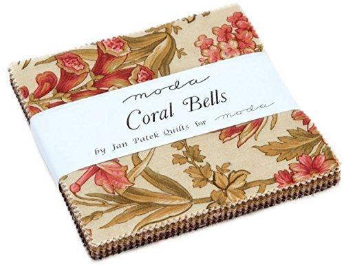Coral Bells Charm Pack By Jan Patek; 42 - 5