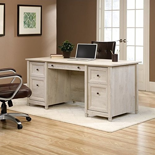 Sauder Edge Water Executive Desk in Chal - Home Office Furniture Shopping Results