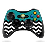 Protective Vinyl Skin Decal Cover for Microsoft Xbox 360 Controller wrap sticker skins Teal Chevron Review
