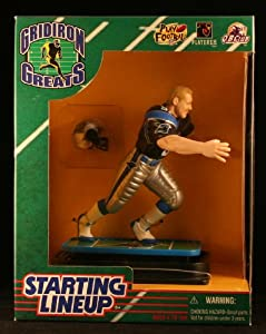KEVIN GREENE / CAROLINA PANTHERS 1997 NFL GRIDIRON GREATS Starting Lineup Deluxe 6 Inch Figure