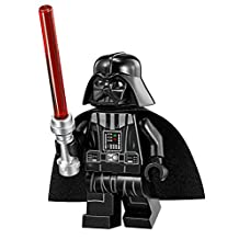 LEGO Star Wars Minifigure - Darth Vader with Tan Head & Red Lightsaber Imperial Star Destroyer (75055)