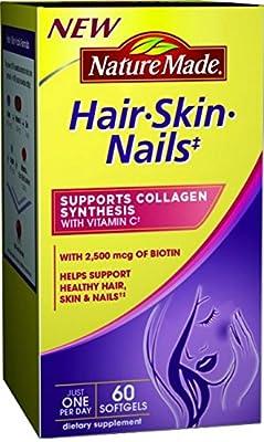 Nature Made Hair, Skin, Nails, 60 Softgels