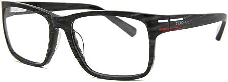 Tag Heuer Brillengestelle TH-536 Monturas de gafas, Multicolor (Mehrfarbig), 56.0 Unisex Adulto