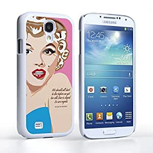 Caseflex Samsung Galaxy S5 Case Marilyn Monroe Fear Is Stupid Quote Hard Cover