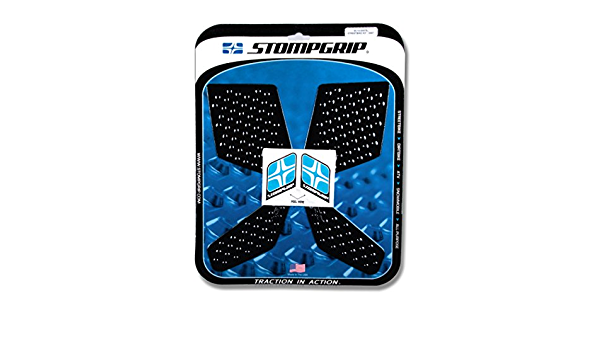 Stompgrip 13-15 Honda CB500X Traction Pads Black