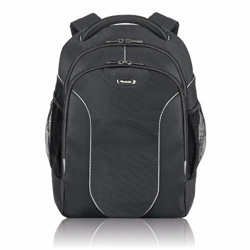 Solo Sentinel Collection Laptop Backpack, Holds Notebook Computer up to 17.3 Inches, Plus e-Reader, iPad or Netbook, Black, RMR701-4 Mission Collection Computer