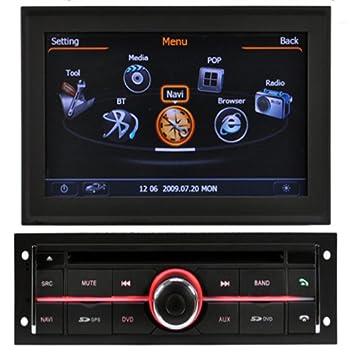 Coche DVD para Mitsubishi L200 con GPS de radio USB 1G CPU ...