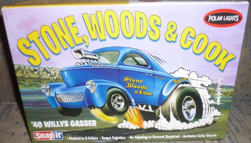 Polar Lights 1933 Willys Coupe Snap Draggin Snap Model Building Kit