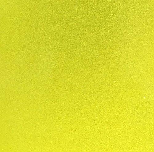 Qbc Craft - Cinta adhesiva reflectante de limón amarillo (12 unidades) de 3,5' x 12' de 3M Scotchlite 680 7MIL 9 años de...
