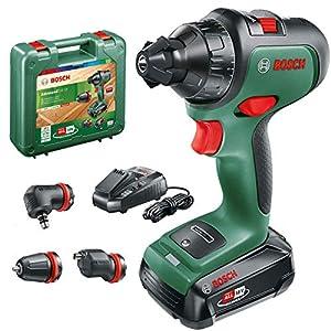 Bosch Home and Garden 06039B5007 Trapano, 18 W, 18 V, Green, 1/2_pollice 51E0YhGM98L. SS300