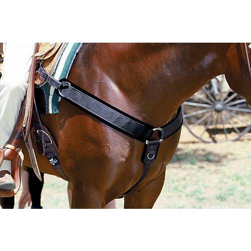 - Professionals Choice Equine Neoprene Breast Collar (Universal Size, Black)