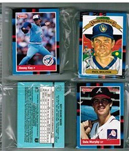 1988 Donruss Detroit Tigers Team Set 25 Cards MINT