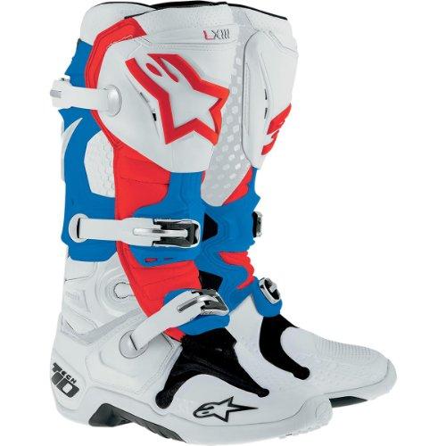 Alpinestars , Chaussures de randonnée montantes pour femme weiss-rot-blau US 8 (EU 42)