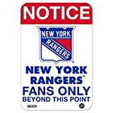 Steiner Sports Fans only 8x12 Aluminum Sign