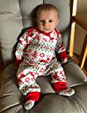 Christmas Newborn Baby Boy Girl Pajamas Set Unisex