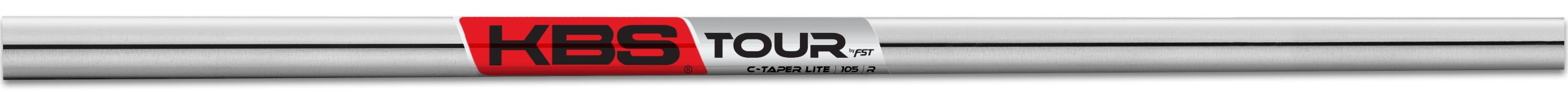 True Temper Men's C-Taper Lite Golf Club Shaft, 105gm, Steel, Regular, 4-PW