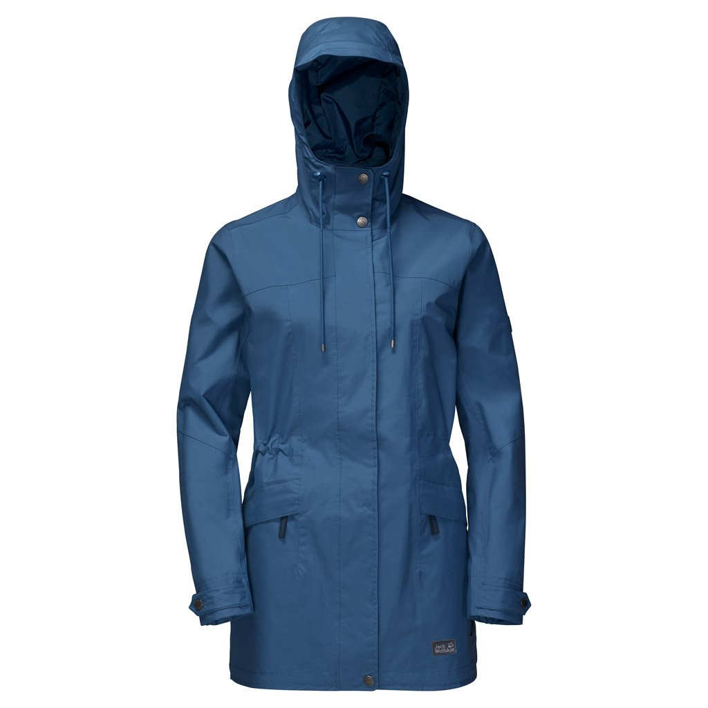 Jack Wolfskin Cameia Womens Parka chaqueta impermeable y ...