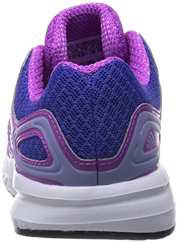 Adidas Duramo 6 - Zapatillas de correr de material sintético infantil Viola (Flash Pink S15/Glow Purple S14/Night Flash S15)