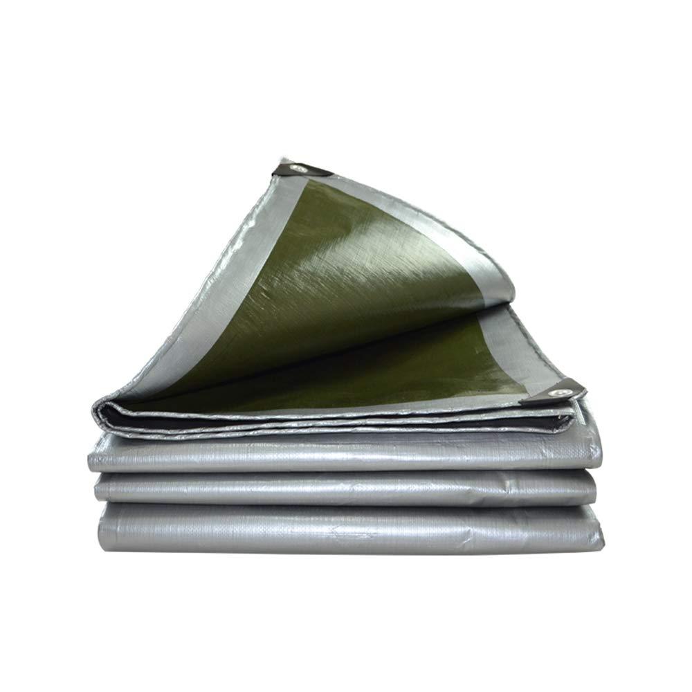 GJFeng Wasserdichte Regenschirme Der Planenreparaturplane Der Tarnung des PET-Plastikregenplanen-Planens Im Freien Wasserdichte Sonnenschutz (größe   6x8m)
