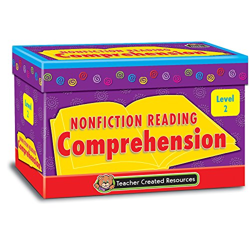 Teacher Created Resources TCR2552 Nonfiction Reading Comprehension Cards, Level 2