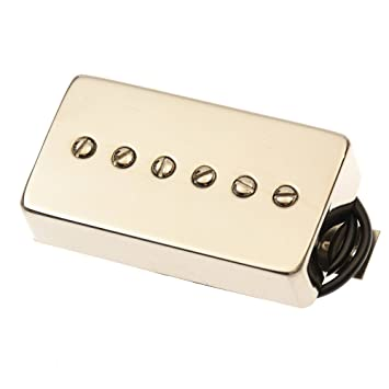 Bare Knuckle humbucker-sized Mississippi Queen P90 Puente Pickup níquel
