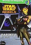 World of Reading Star Wars Rebels Sabine's Art Attack: Level 1