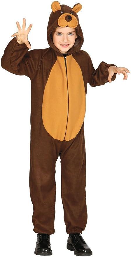 Guirca - Disfraz de oso, talla 3-4 años, color marrón (83260 ...