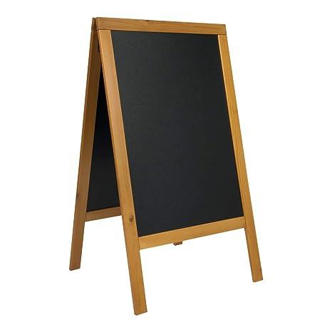 Amazon.com: Letrero de pizarra con caballete lateral, para ...