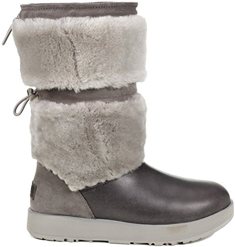 UGG Women's Reykir Waterproof Metal 7.5 B US (Women Ugg Sale)