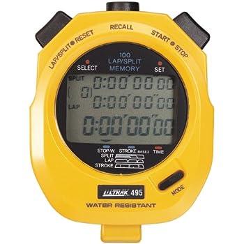 Ultrak 100 Lap - Temporizador de memoria, Amarillo