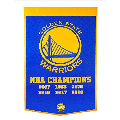 Winning Streak Golden State Warriors 2018 NBA Champions Dynasty Banner