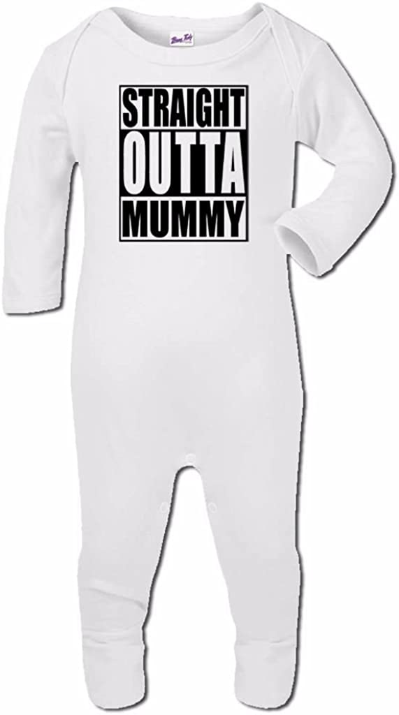 Baby Romper Suit Boy Girl One Piece Baby Shower Gift Straight Outta Tha Oven#1