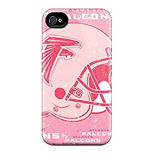 Durable Cell-phone Hard Cover For Iphone 6 With Custom Stylish Atlanta Falcons Skin ChristopherWalsh